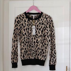 BCBGeneration Leopard Print Sweater